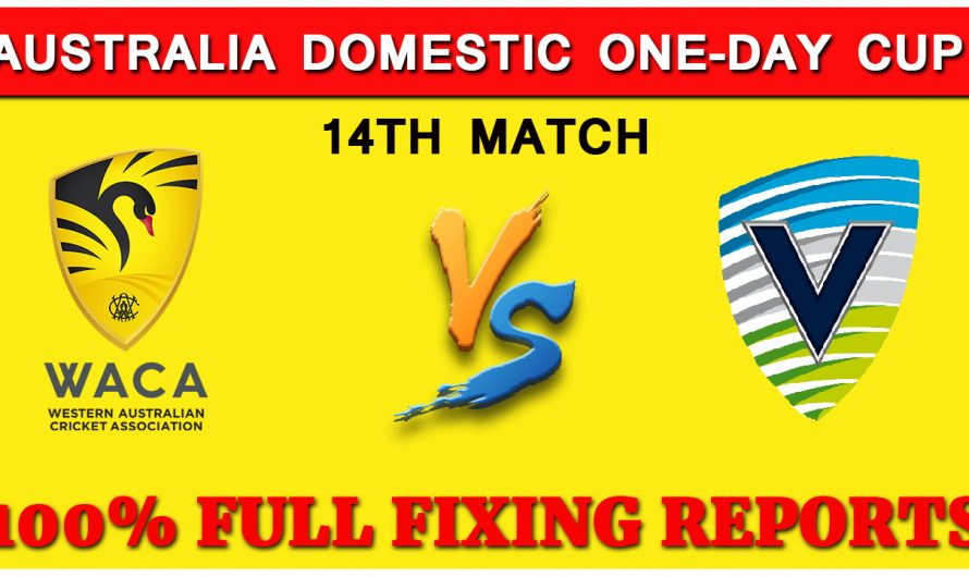 Australia Domestic One-Day Cup 2019: Western Australia vs Victoria 14TH Match Prediction