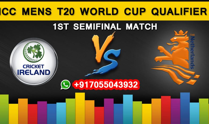 ICC T20 World Cup Qualifier 2019: Ireland vs Netherlands, 1st Semifinal  Match Prediction