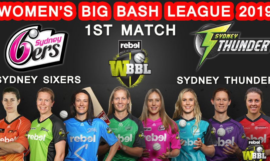 Womens Big Bash League, 1st match Sydney Sixers Women vs Sydney Thunder Women, Match Prediction