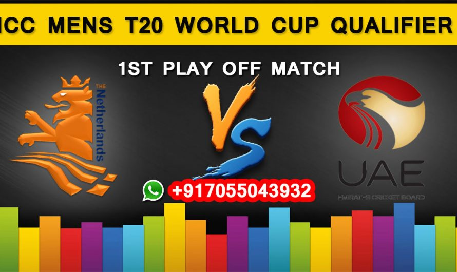 ICC T20 World Cup Qualifier 2019: Netherlands vs United Arab Emirates, 1st Play Off  Match Prediction