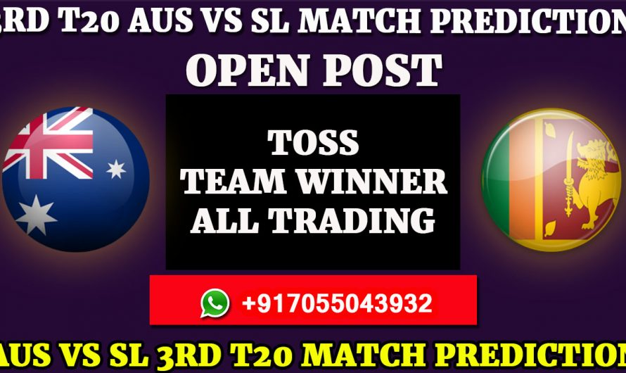 Sri Lanka tour of Australia 2019: Australia vs Sri Lanka, 3rd T20 Match Prediction