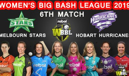 6th MATCH Melbourne Stars Women vs Hobart Hurricanes Women