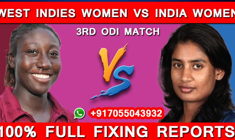 3rd ODI West Indies Women vs India Women, Match Prediction, WI VS IND,