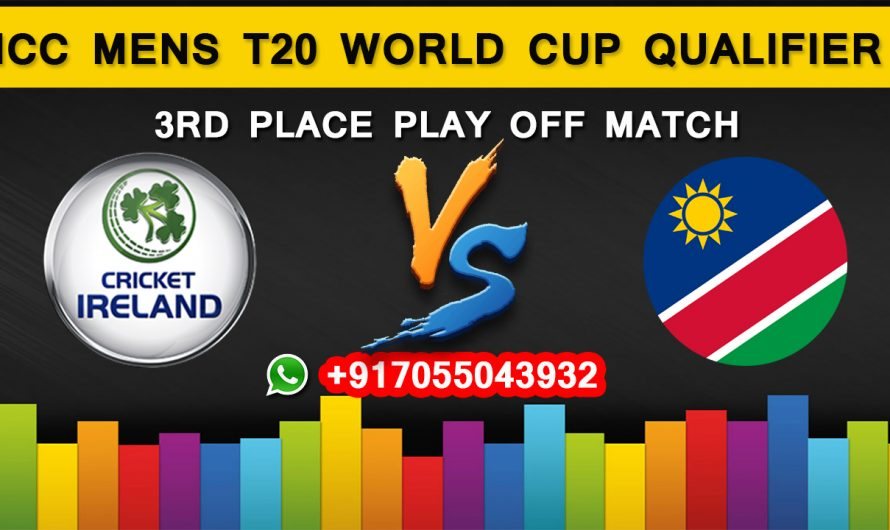 ICC T20 World Cup Qualifier 2019: Ireland vs Namibia, 3rd Place Play Off Match Prediction