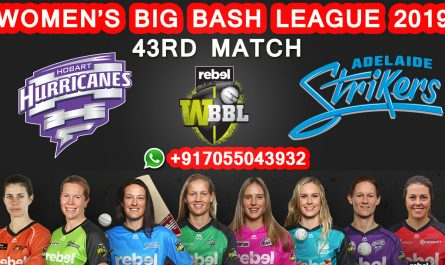 Hobart Hurricanes vs Adelaide Strikers