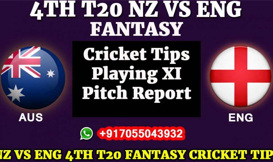 New Zealand vs England, 4th T20I – Dream11 Fantasy Cricket Tips Playing XI, Pitch Report