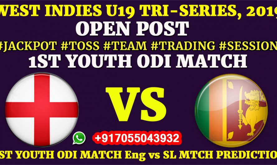1ST YOUTH ODI MATCH, England U19 vs Sri Lanka U19, Full Fixing Reports, Prediction & Tips, ENG U19 VS SL U19