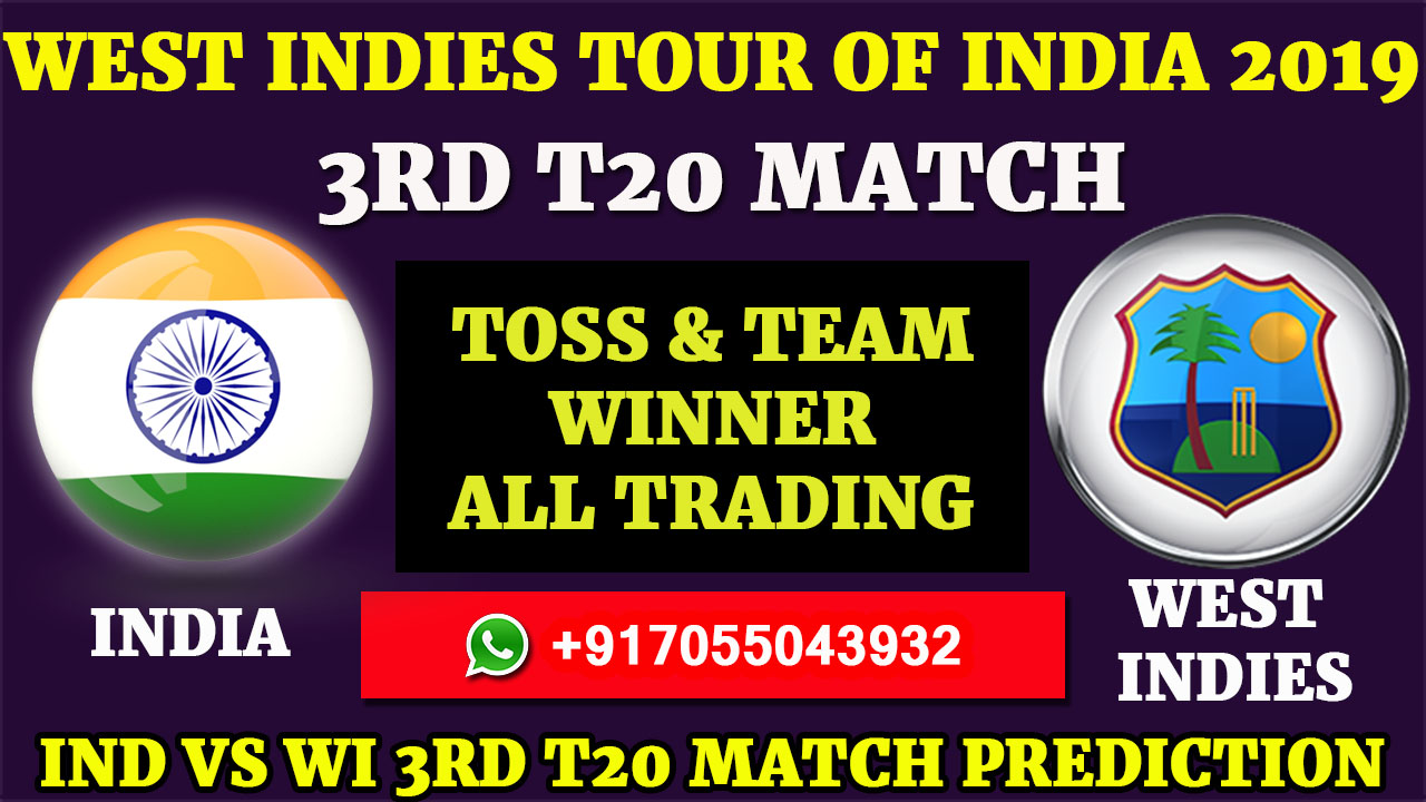 3RD T20 IND VS WI