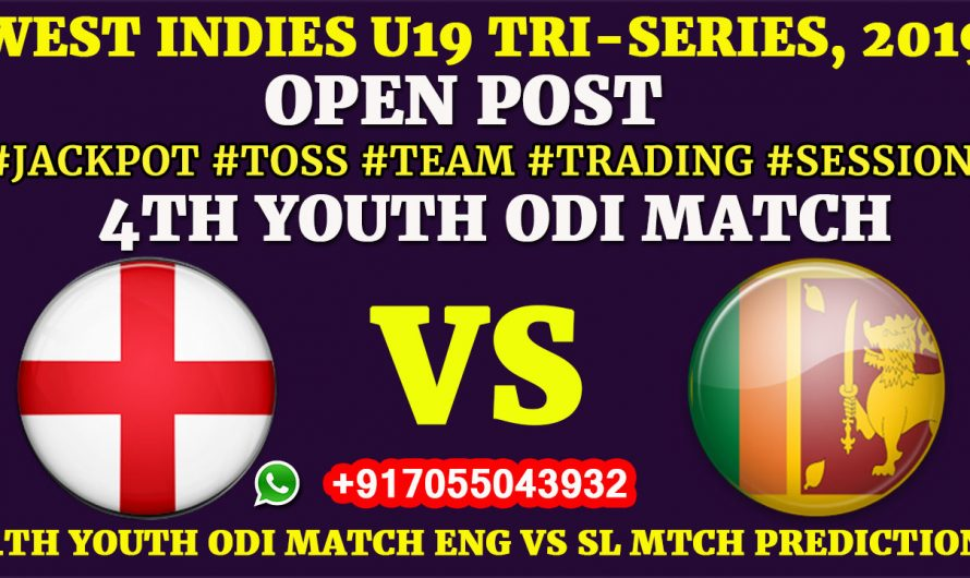 4TH YOUTH ODI MATCH, England U19 vs Sri Lanka U19, Full Prediction & Tips