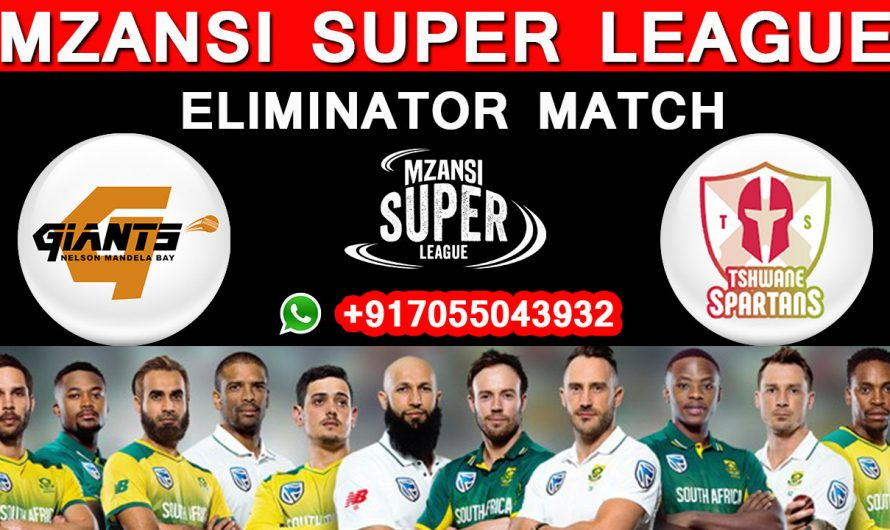 Eliminator Match MSL 2019, Nelson Mandela vs Tshwane Spartans, Match Prediction & TIPS