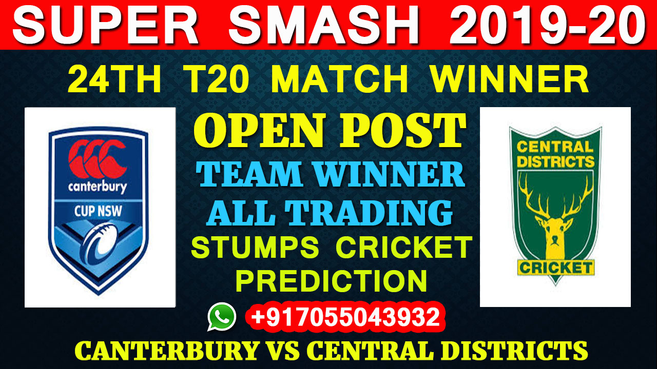 Canterbury vs Central Districts