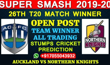 Auckland vs Northern Knights