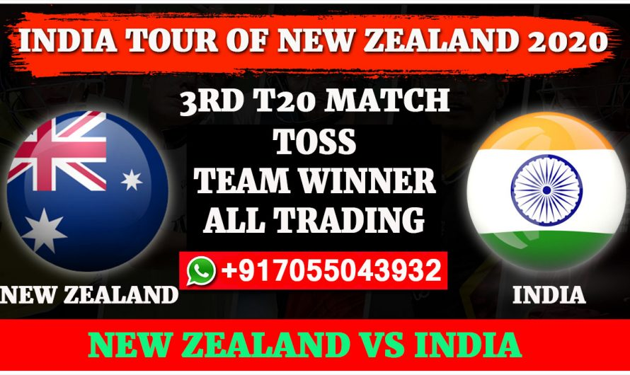 3RD T20 Match, India tour of New Zealand 2020: India vs New Zealand, Full Prediction & Tips