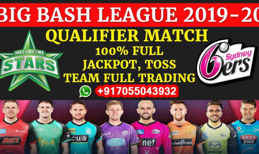 Qualifier T20 Match, BBL 2019-20: Melbourne Stars vs Sydney Sixers, Full Prediction & Tips