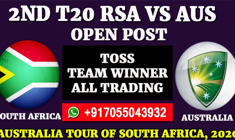 2ND T20 Match, Australia tour of South Africa 2020: South Africa vs Australia, Full Prediction & Tips