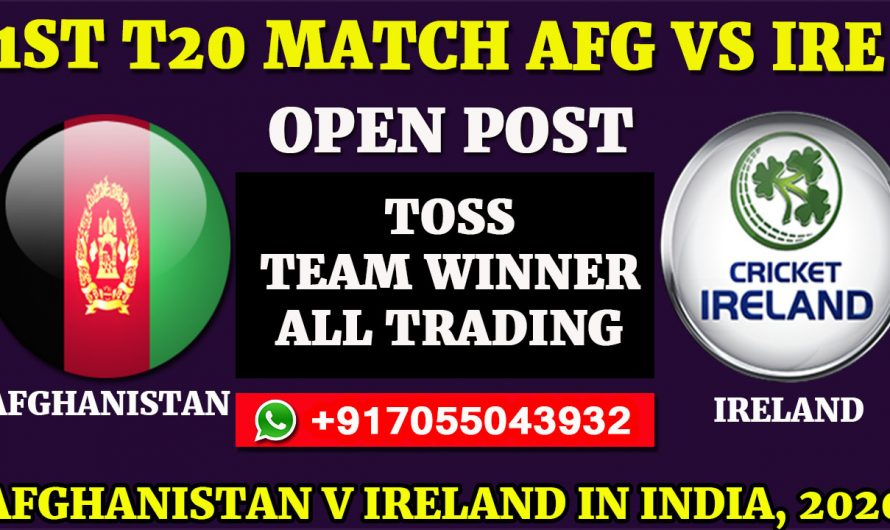 1ST T20 Match, Afghanistan v Ireland in India 2020: Afghanistan vs Ireland, Full Prediction & Tips