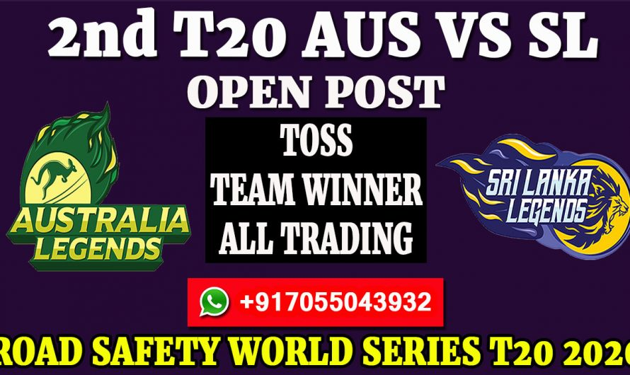 2nd T20  Match, Road Safety World Series T20 2020: Australia Legends vs Sri Lanka Legends, Full Prediction