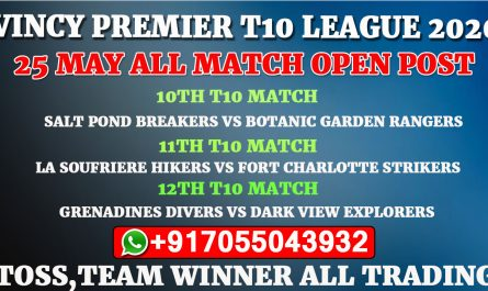 25th May All Match