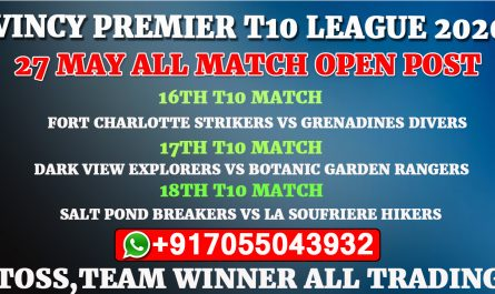 27th May All Match