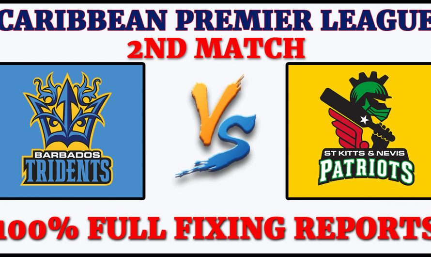 2nd Match CPL 2020, Barbados Tridents vs St Kitts and Nevis Patriots, BT VS SNP,Match Prediction