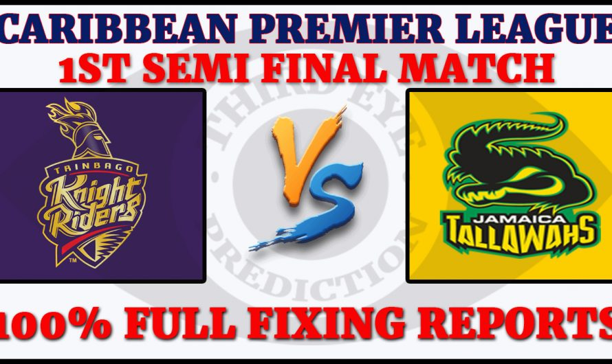1st Semi Final Match CPL 2020, Trinbago Knight Riders vs Jamaica Tallawahs, TKR VS JT, Match Prediction