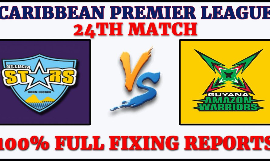 24TH Match CPL 2020, St Lucia Zouks vs Guyana Amazon Warriors, STZ VS GAW, Match Prediction