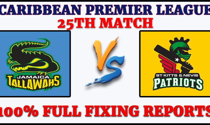 25TH Match CPL 2020, Jamaica Tallawahs vs St Kitts and Nevis Patriots, JT VS SNP, Match Prediction