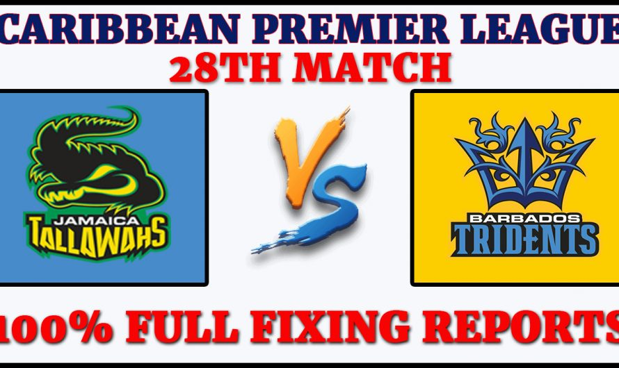 28TH Match CPL 2020, Jamaica Tallawahs vs Barbados Tridents, JT VS BT, Match Prediction