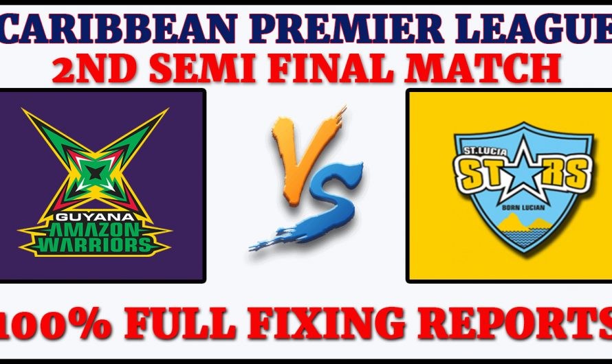 2nd Semi Final Match CPL 2020, Guyana Amazon Warriors vs St Lucia Zouks, GAW VS STZ, Match Prediction