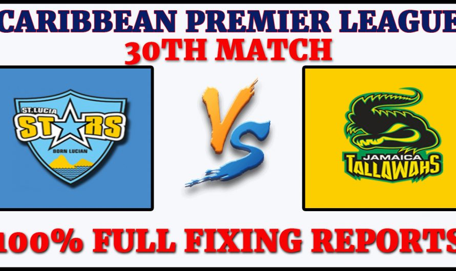 30TH Match CPL 2020, St Lucia Zouks vs Jamaica Tallawahs, STZ VS JT, Match Prediction
